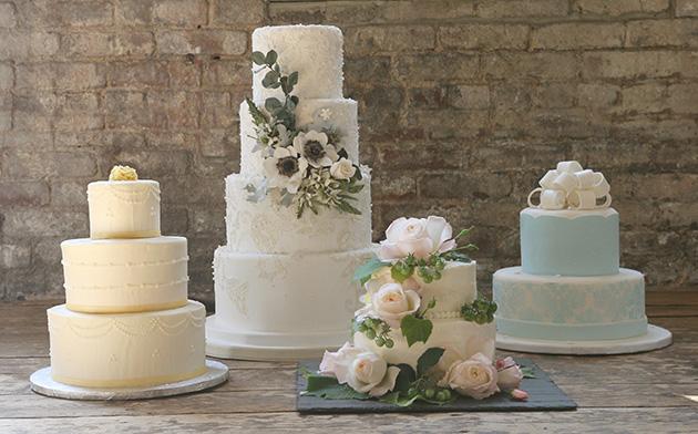 One Girl Cookies Wedding Cakes