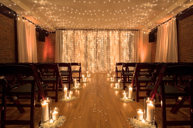 Deity NYC, Wedding Planner, FLorist, Brooklyn Loft, Ceremony Space